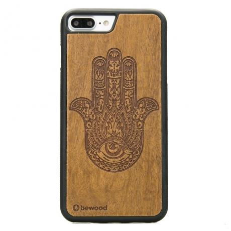 Drewniane Etui iPhone 7 Plus / 8 Plus HAMSA IMBUIA
