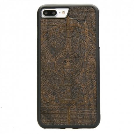 Drewniane Etui iPhone 7 Plus / 8 Plus KALENDARZ AZTECKI ZIRICOTE