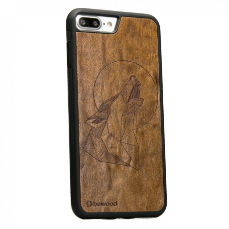Drewniane Etui iPhone 7 Plus / 8 Plus WILK IMBUIA