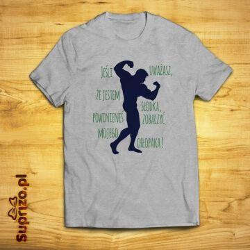 Koszulka dla dziewczyny kulturysty