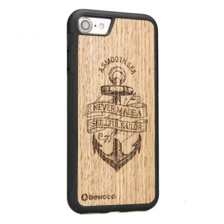 Drewniane Etui iPhone 7/8 KOTWICA DĄB