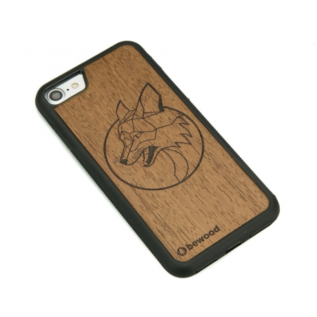 Drewniane Etui iPhone 7/8 LIS MERBAU