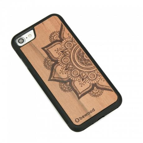 Drewniane Etui iPhone 7/8 MANDALA JABŁOŃ