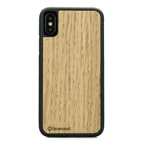 Drewniane Etui iPhone X/XS DĄB