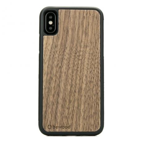 Drewniane Etui iPhone X/XS ORZECH AMERYKAŃSKI