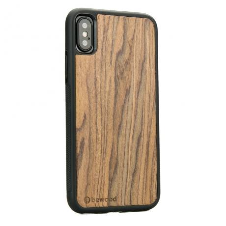 Drewniane Etui iPhone X/XS PALISANDER