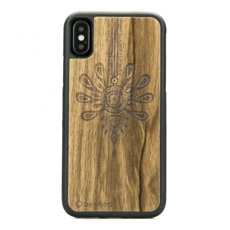 Drewniane Etui iPhone X/XS PARZENICA LIMBA