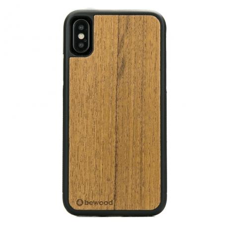 Drewniane Etui iPhone X/XS TEK