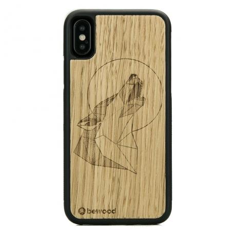 Drewniane Etui iPhone X/XS WILK DĄB