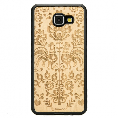 Drewniane Etui Samsung Galaxy A5 2016 POLSKI FOLK ANIEGRE