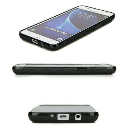Drewniane Etui Samsung Galaxy J5 2016 RÓŻA WIATRÓW MERBAU BIELONA