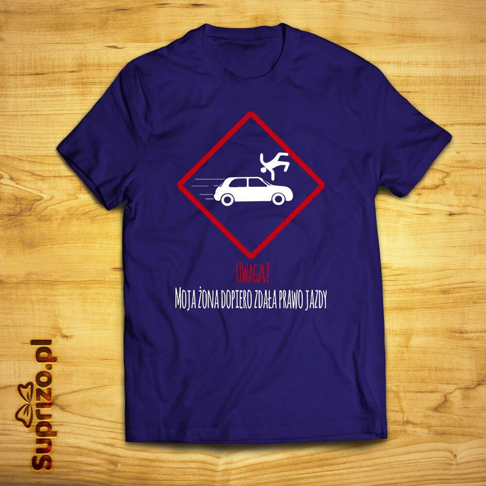 Koszulka z zabawnym nadrukiem dla męża