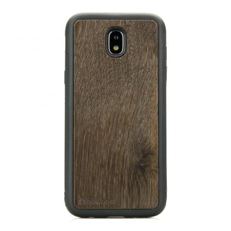 Drewniane Etui Samsung Galaxy J7 2017 DĄB WĘDZONY