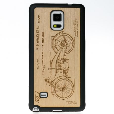 Drewniane Etui Samsung Galaxy Note 4 HARLEY PATENT ANIEGRE