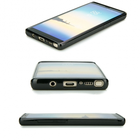 Drewniane Etui Samsung Galaxy Note 8 DĄB WĘDZONY