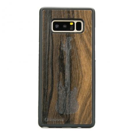 Drewniane Etui Samsung Galaxy Note 8 GITARA ZIRICOTE