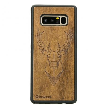 Drewniane Etui Samsung Galaxy Note 8 JELEŃ IMBUIA