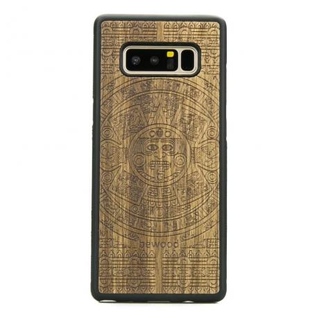 Drewniane Etui Samsung Galaxy Note 8 KALENDARZ AZTECKI LIMBA