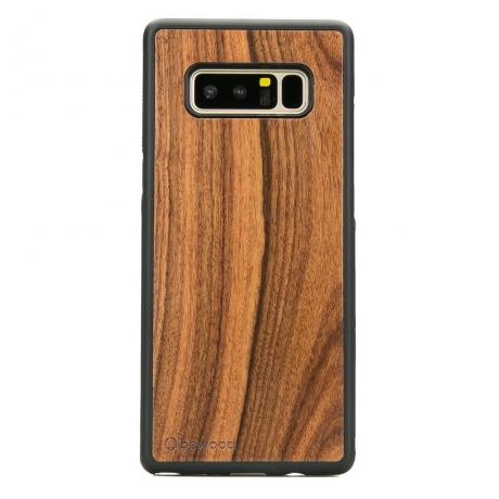 Drewniane Etui Samsung Galaxy Note 8 PALISANDER SANTOS