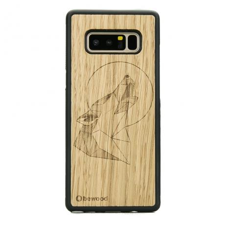 Drewniane Etui Samsung Galaxy Note 8 WILK DĄB
