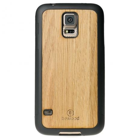 Drewniane Etui Samsung Galaxy S5/S5 Neo DĄB