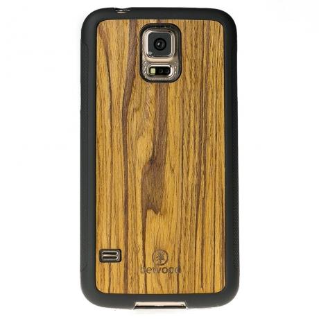 Drewniane Etui Samsung Galaxy S5/S5 Neo OLIWKA