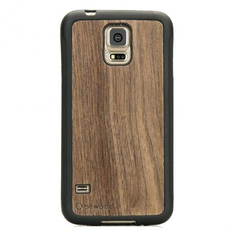 Drewniane Etui Samsung Galaxy S5/S5 Neo ORZECH AMERYKAŃSKI