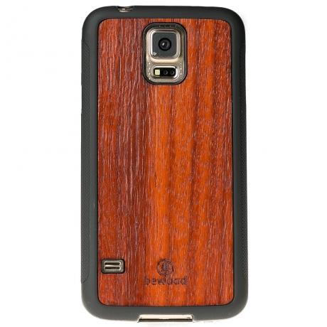 Drewniane Etui Samsung Galaxy S5/S5 Neo PADOUK