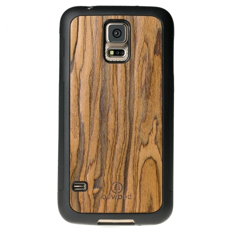 Drewniane Etui Samsung Galaxy S5/S5 Neo PALISANDER