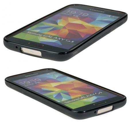 Drewniane Etui Samsung Galaxy S5/S5 Neo PALISANDER SANTOS