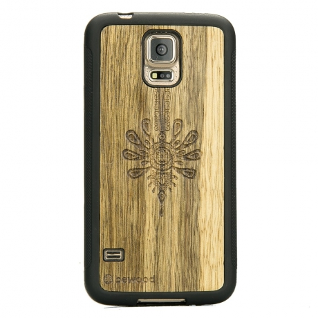 Drewniane Etui Samsung Galaxy S5/S5 Neo PARZENICA LIMBA