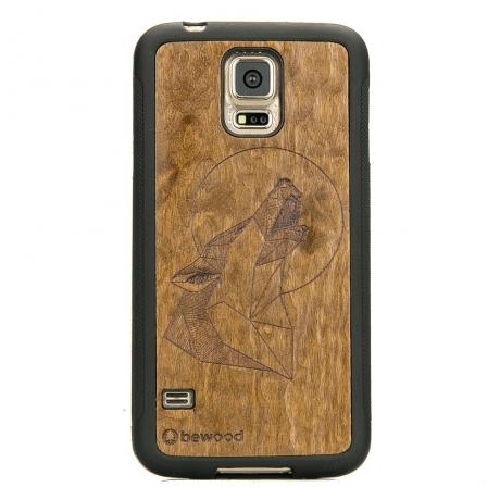 Drewniane Etui Samsung Galaxy S5/S5 Neo WILK IMBUIA