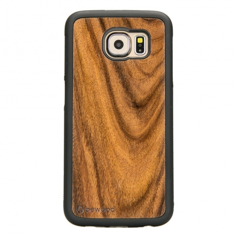 Drewniane Etui Samsung Galaxy S6 PALISANDER SANTOS