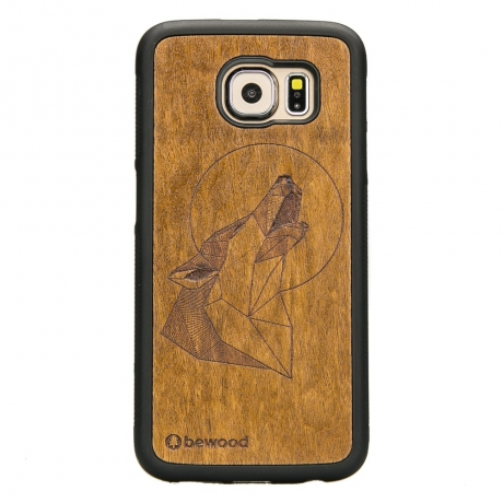 Drewniane Etui Samsung Galaxy S6 WILK IMBUIA
