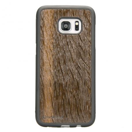 Drewniane Etui Samsung Galaxy S7 Edge DĄB WĘDZONY