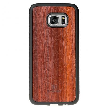 Drewniane Etui Samsung Galaxy S7 Edge PADOUK