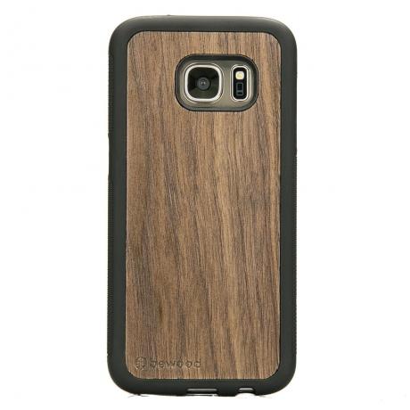 Drewniane Etui Samsung Galaxy S7 ORZECH AMERYKAŃSKI