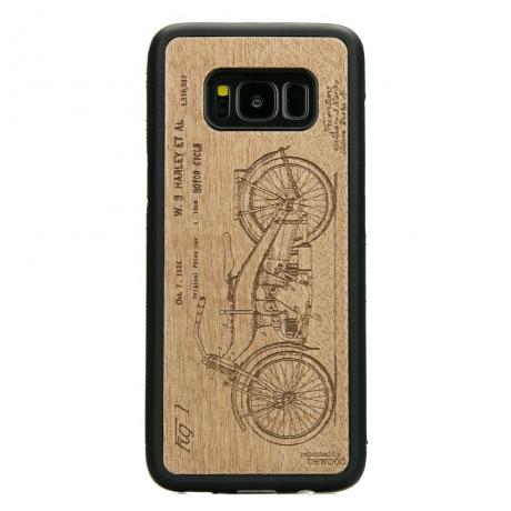Drewniane Etui Samsung Galaxy S8 HARLEY PATENT ANIEGRE