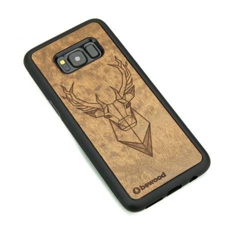 Drewniane Etui Samsung Galaxy S8 JELEŃ IMBUIA