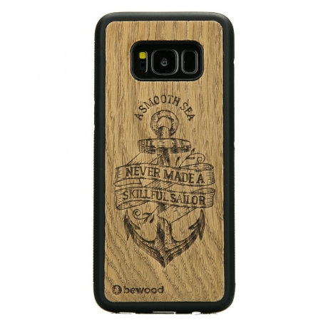 Drewniane Etui Samsung Galaxy S8 KOTWICA DĄB