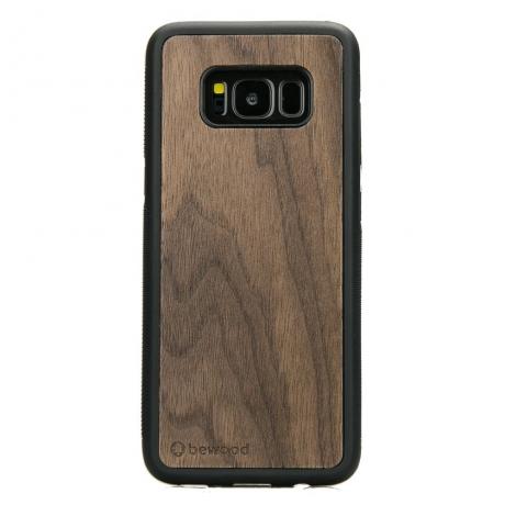 Drewniane Etui Samsung Galaxy S8 ORZECH AMERYKAŃSKI