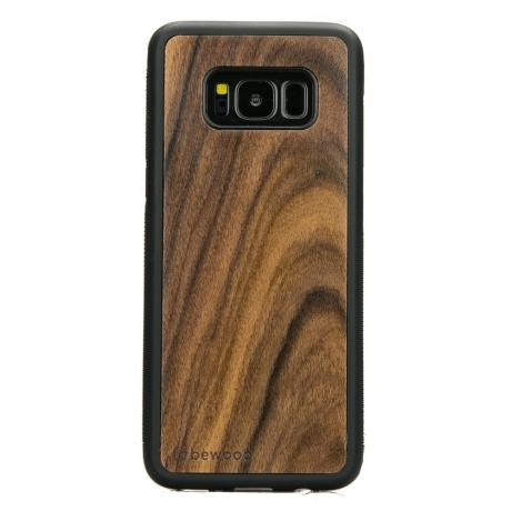 Drewniane Etui Samsung Galaxy S8 PALISANDER SANTOS