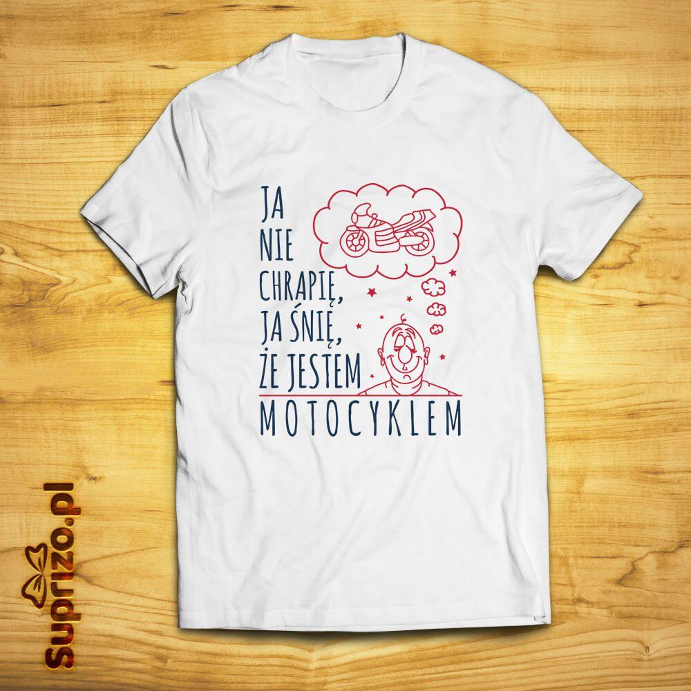 Koszulka dla niego z zabawnym nadrukiem