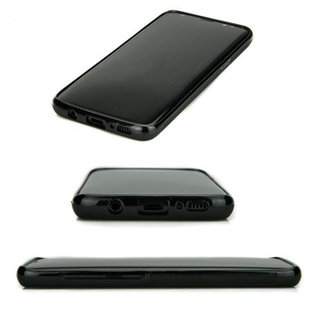 Drewniane Etui Samsung Galaxy S8 RÓŻA WIATRÓW MERBAU BIELONA