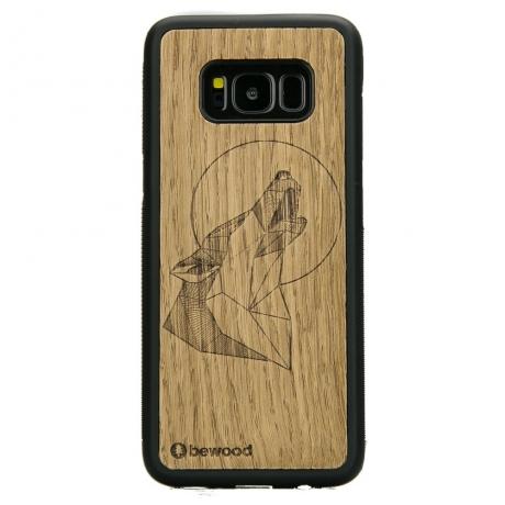 Drewniane Etui Samsung Galaxy S8 WILK DĄB