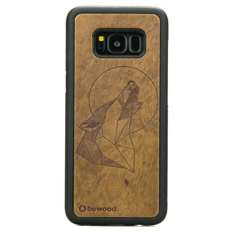 Drewniane Etui Samsung Galaxy S8 WILK IMBUIA