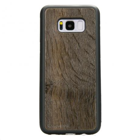 Drewniane Etui Samsung Galaxy S8+ DĄB WĘDZONY