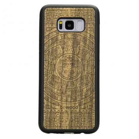 Drewniane Etui Samsung Galaxy S8+ KALENDARZ AZTECKI LIMBA