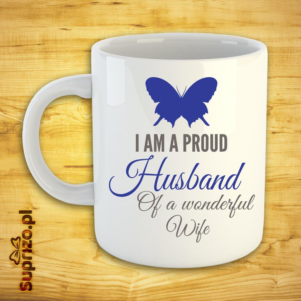 Kubek z napisem dla męża