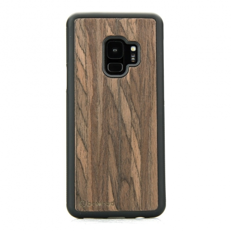 Drewniane Etui Samsung Galaxy S9 DĄB WĘDZONY